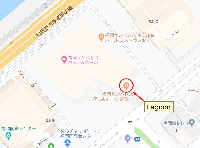 Lagoon地図