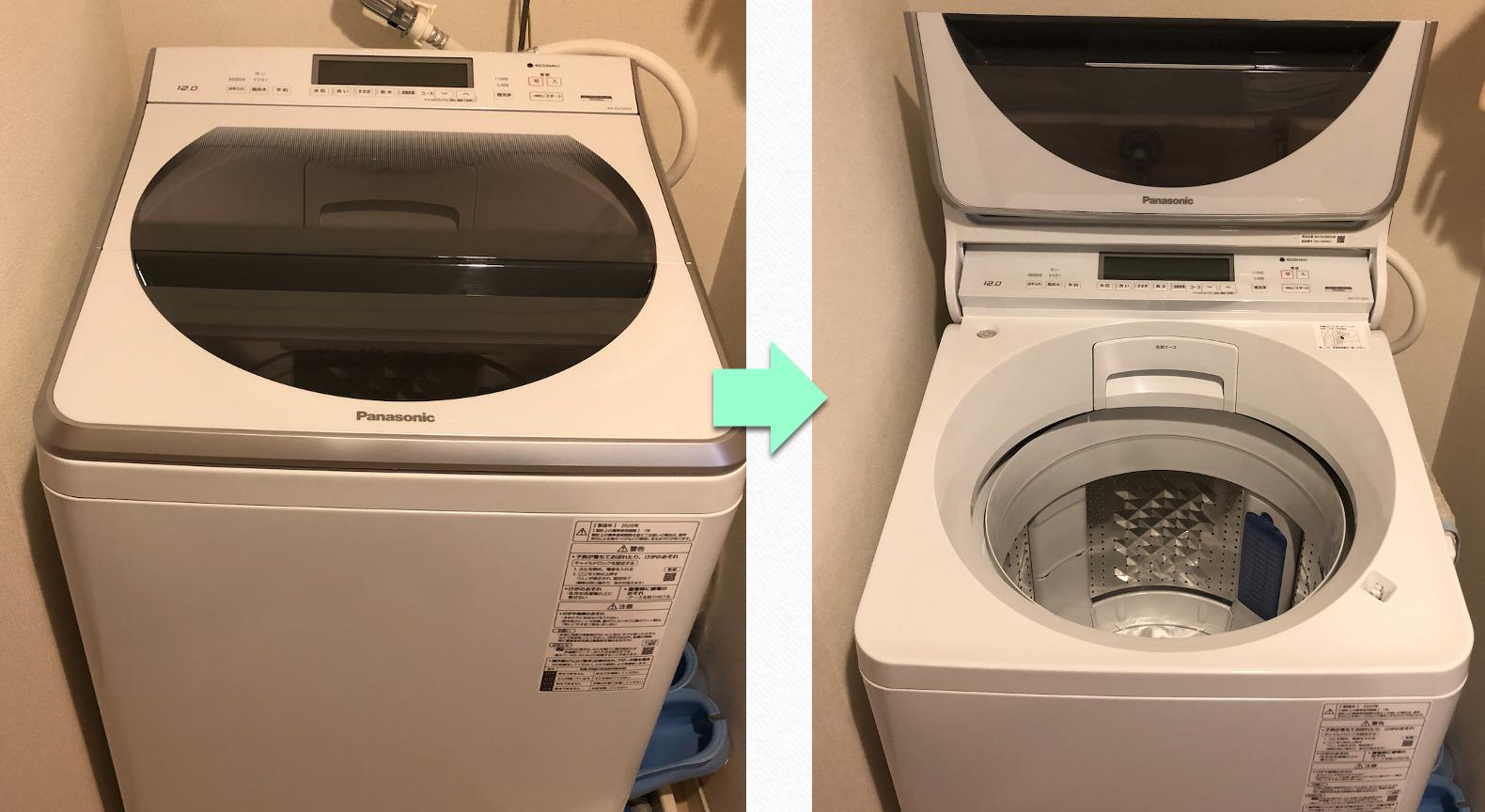 パナソニック縦型洗濯機