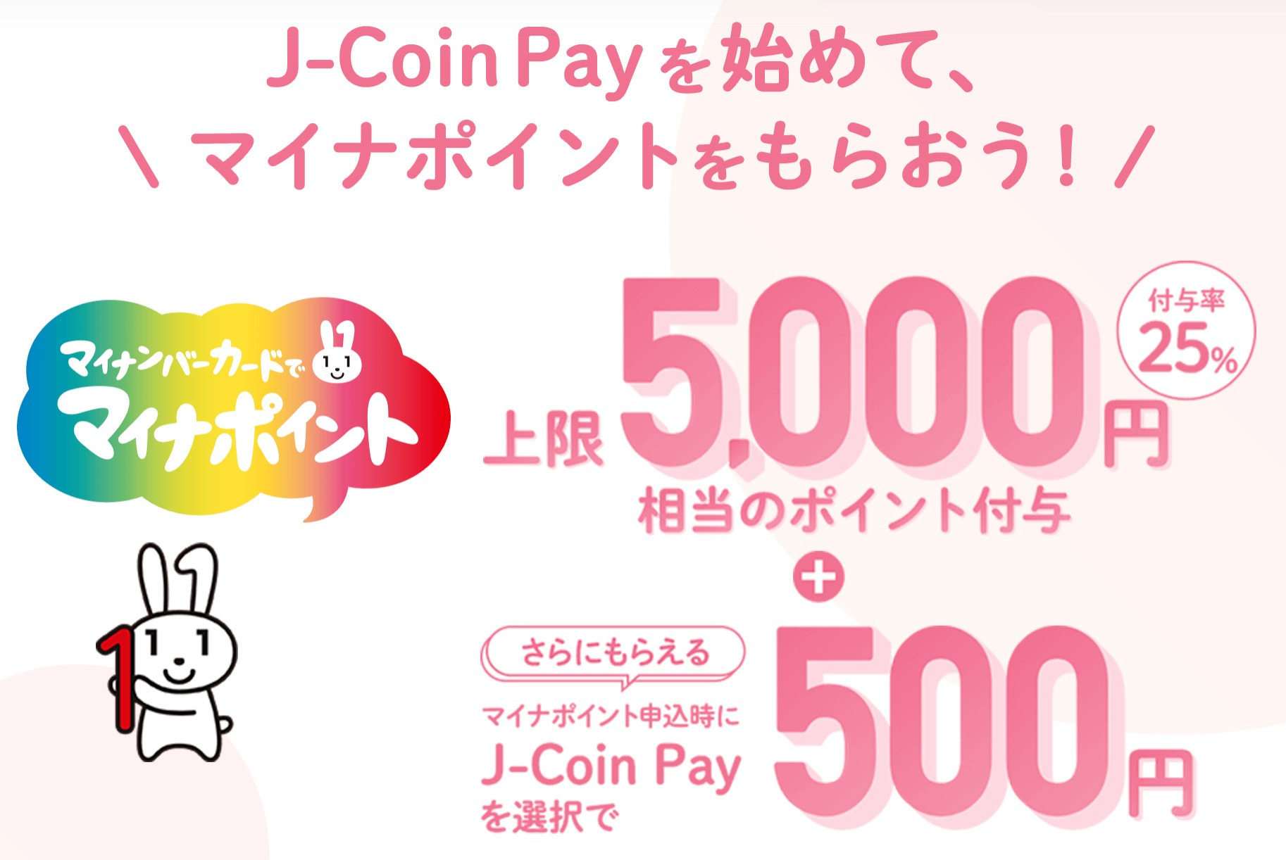 Jcoinのキャンペーン