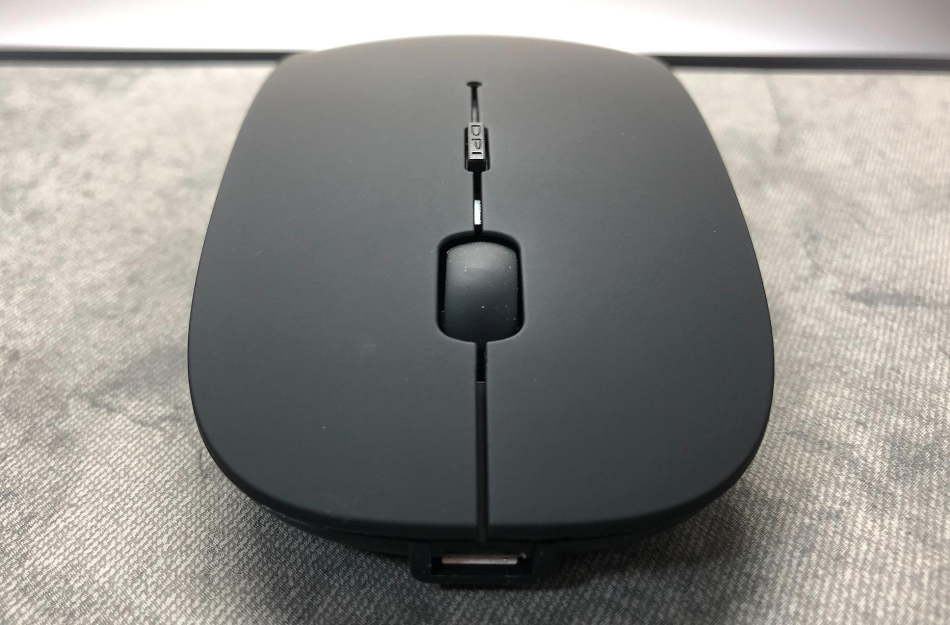 マウスの正面写真