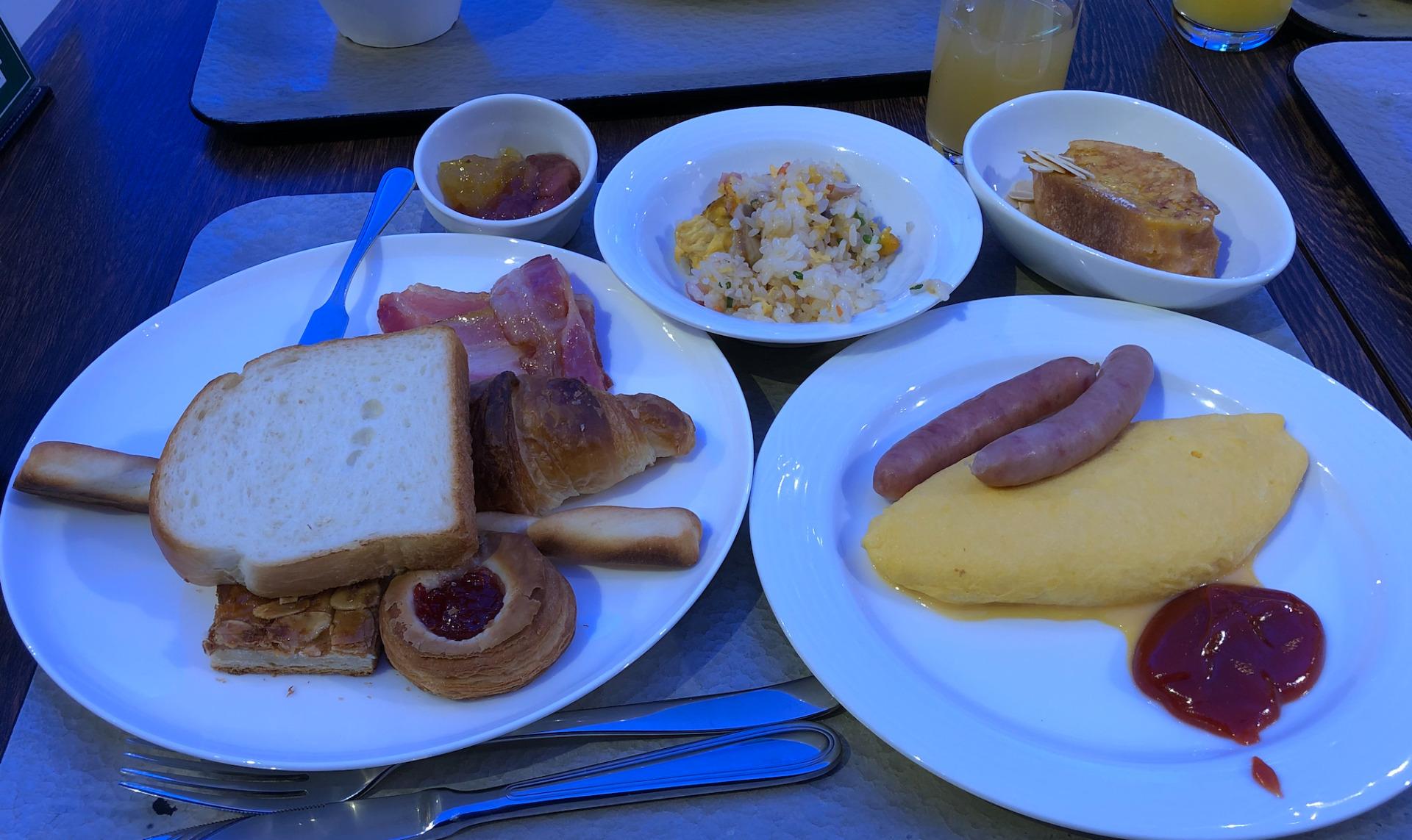 シーダパレス朝食