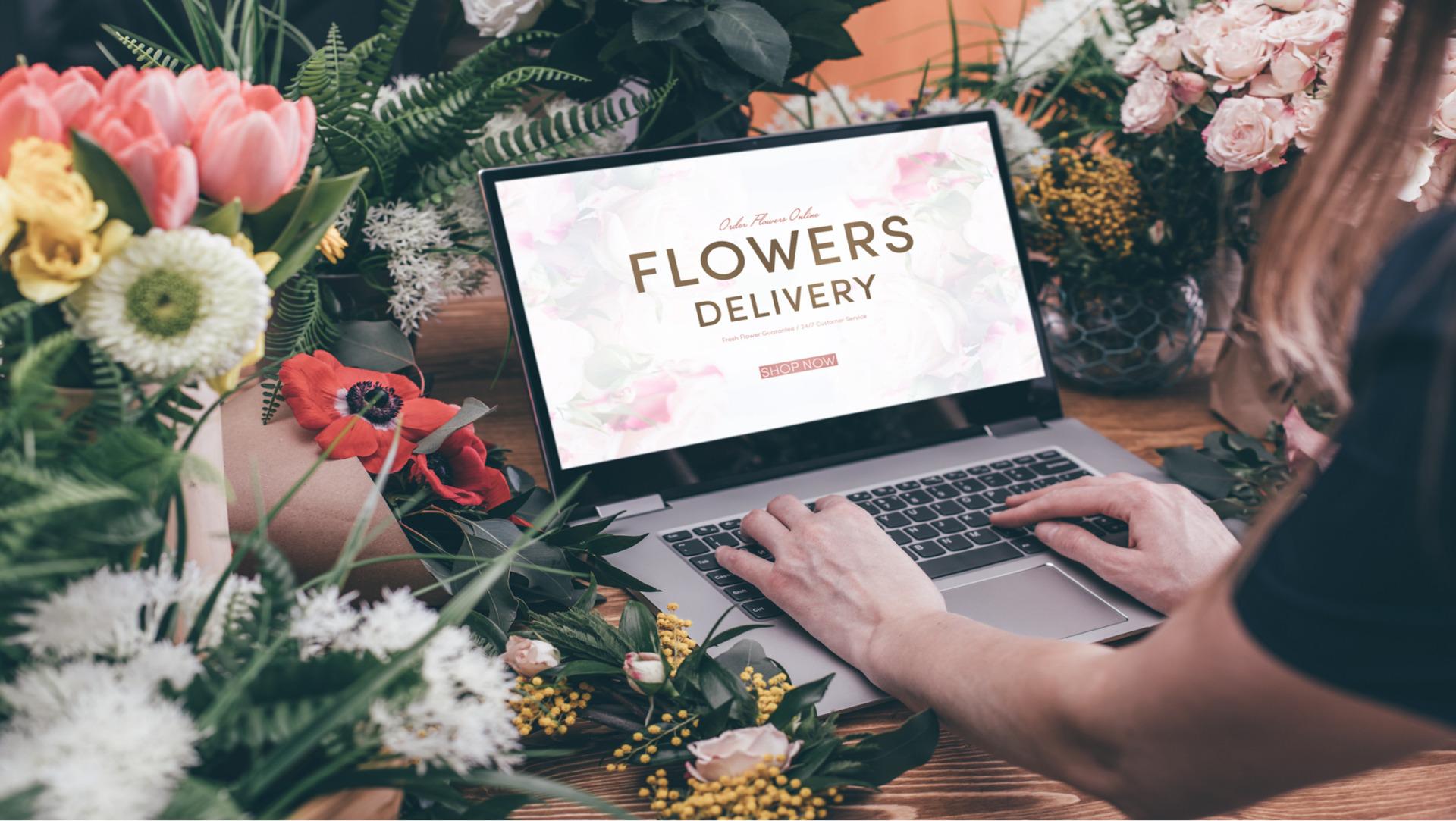お花のお店選び