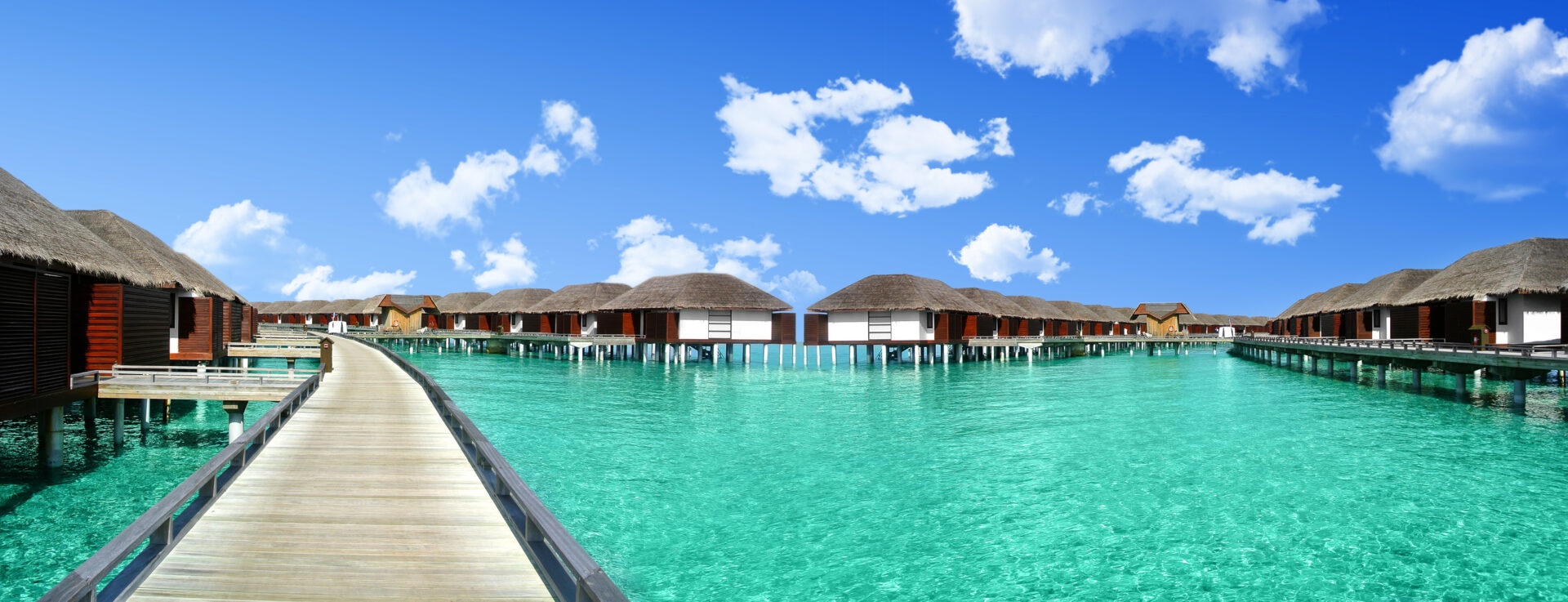 Rest in the Maldives at the beautiful cottages.