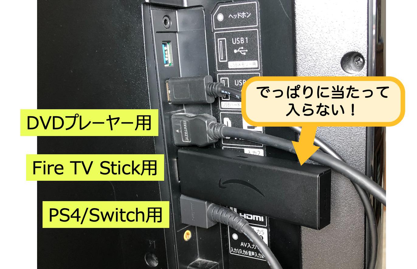 Stickのテレビ接続